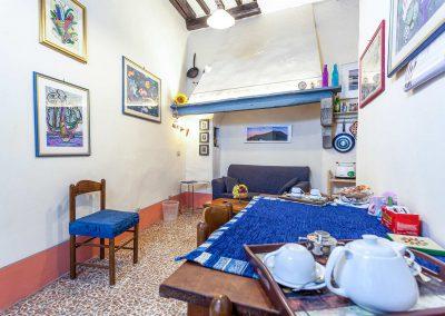 Casa Quintani cortona appartamento sole tinello